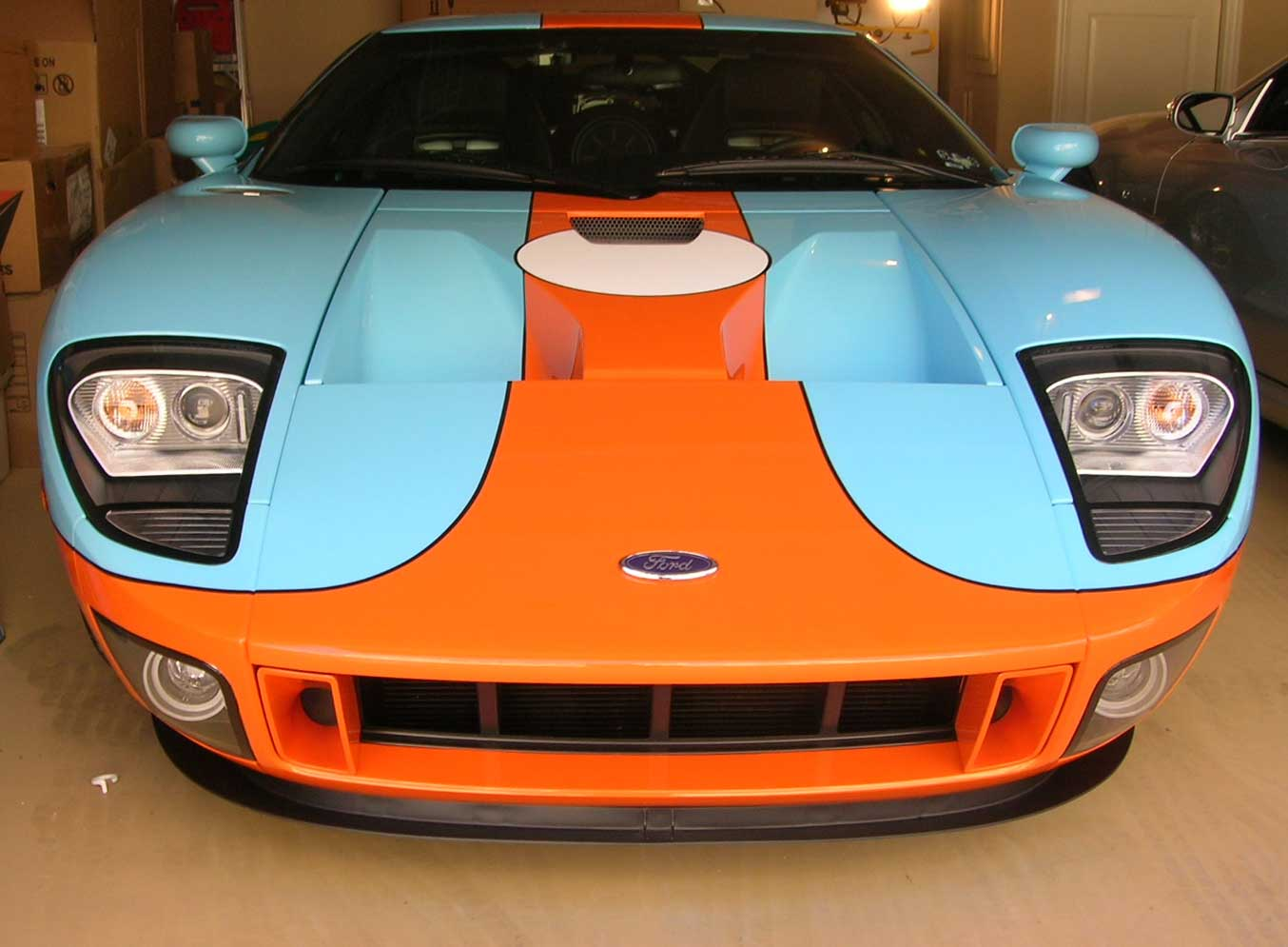 This Very rare Ford GT in Gulf